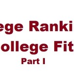 Rankings vs. Fit Part I