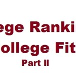 Rankings vs. Fit Part II